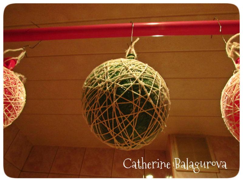 Comment faire des boules de fils et de colle Pva le faire vous-même, photo № 11