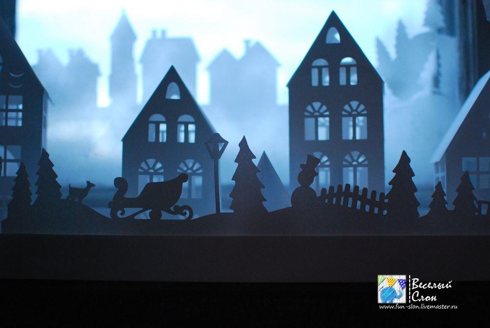 Vytvořit magické město z papíru, fotografie № 44