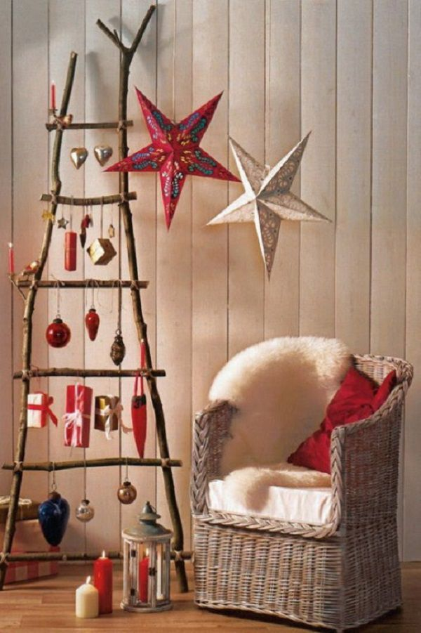 Create a New Year's mood: 50 ideas for the festive decor, photo number 33