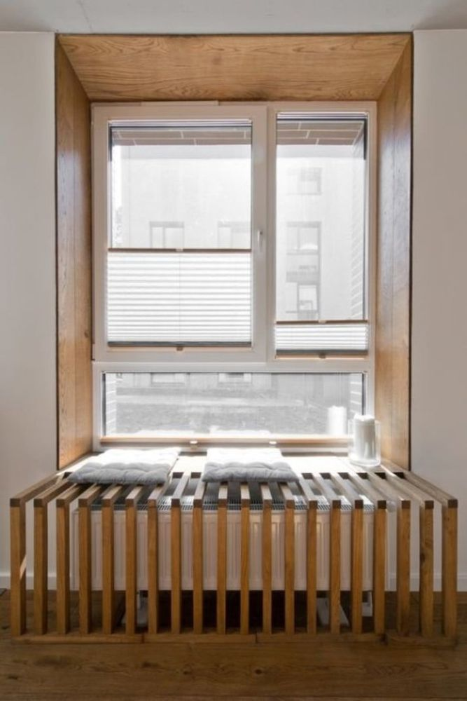 """45 Isıtma pillerini dekore etmek için, ya da evde ısıtma radyatörlerini evde nasıl """"kıkırdayacağı"""", mısırlı gözler, fotoğraf numarası 31"""