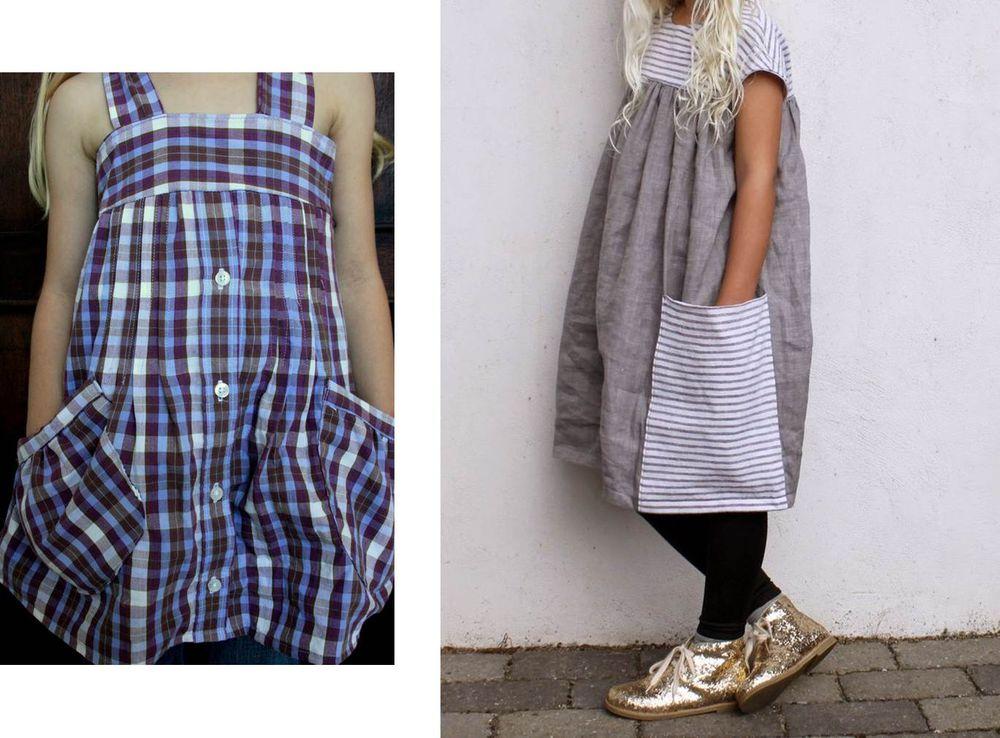 糸の上の世界で、または古い服から新しいスタイリッシュなものを作る、写真№37