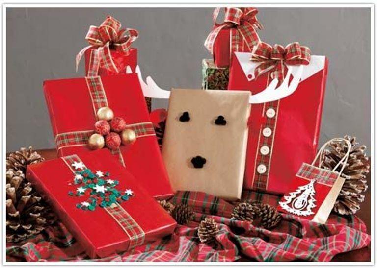 50 interessante ideer til emballering af nytårs gaver, foto № 2