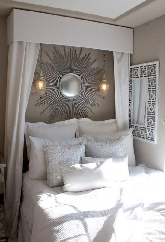 Enkla idéer för hemtak i sovrummet och inte bara, foto nummer 21