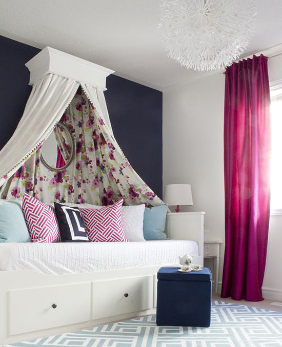 Enkla idéer för hemtak i sovrummet och inte bara, foto nummer 34