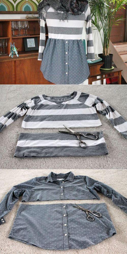 С миру по нитке, или Как из старой одежды сделать новые стильные вещи, фото № 34