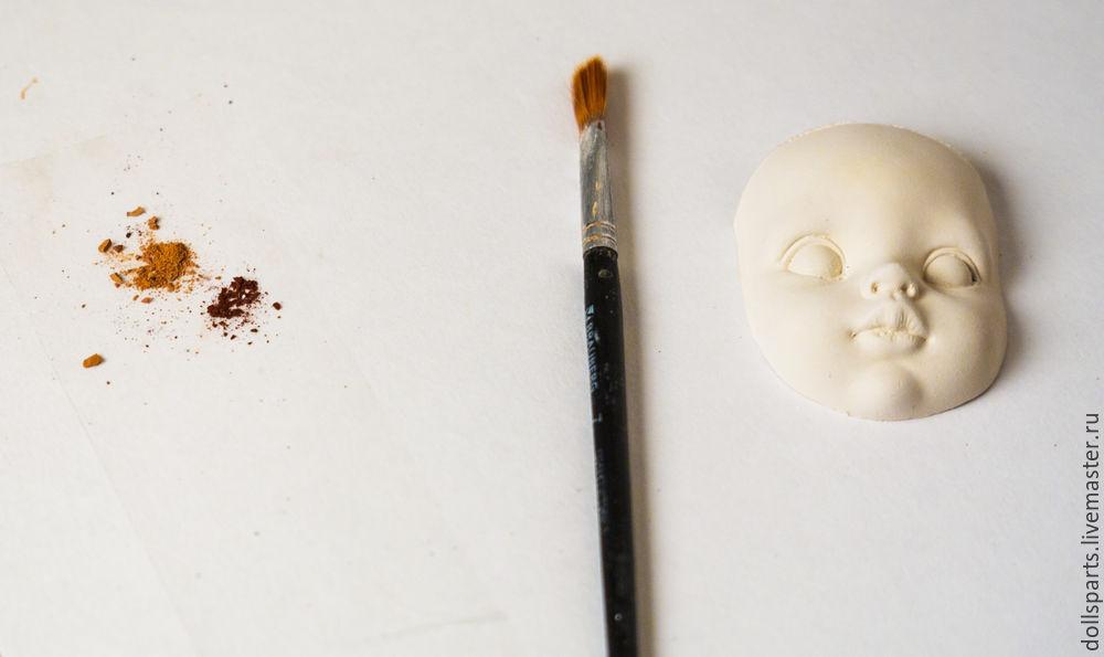 Clase magistral pintando la cara de una muñeca, foto número 3