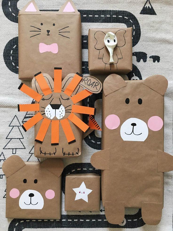 50 interessante ideer til emballering af nytårs gaver, foto № 34