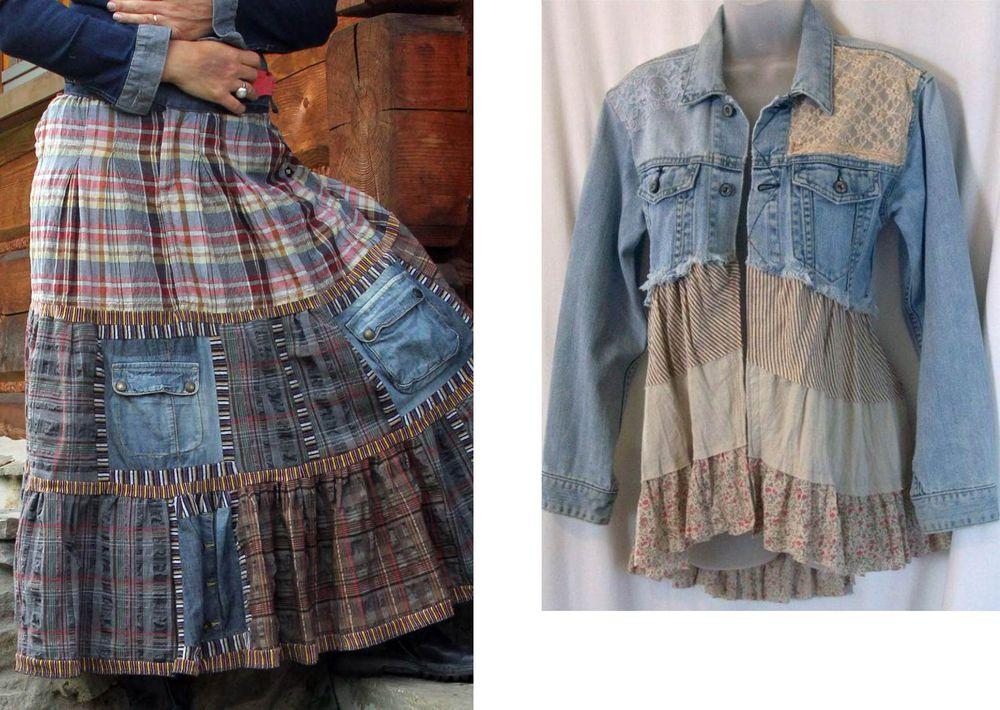 糸の上の世界で、または古い服から新しいスタイリッシュなものを作る、写真№18
