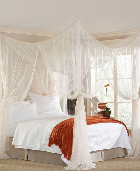Enkla idéer för hemtak i sovrummet och inte bara, foto nummer 25