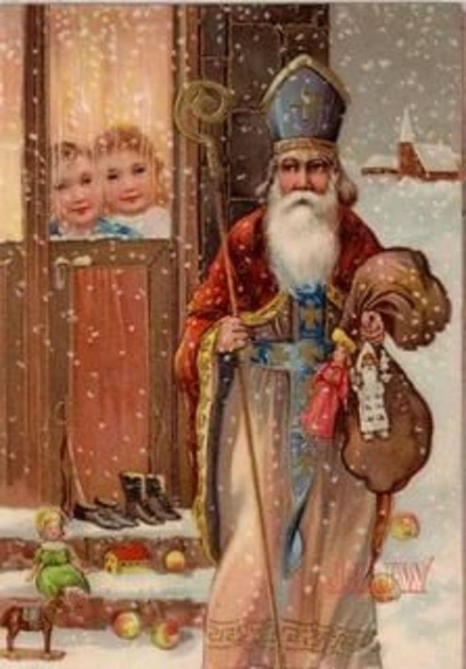 遇见圣诞老人。不要混淆圣诞老人,照片6号