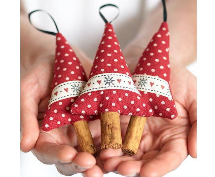 Украсим ёлку интересно! 50 идей ёлочных игрушек своими руками, фото № 19