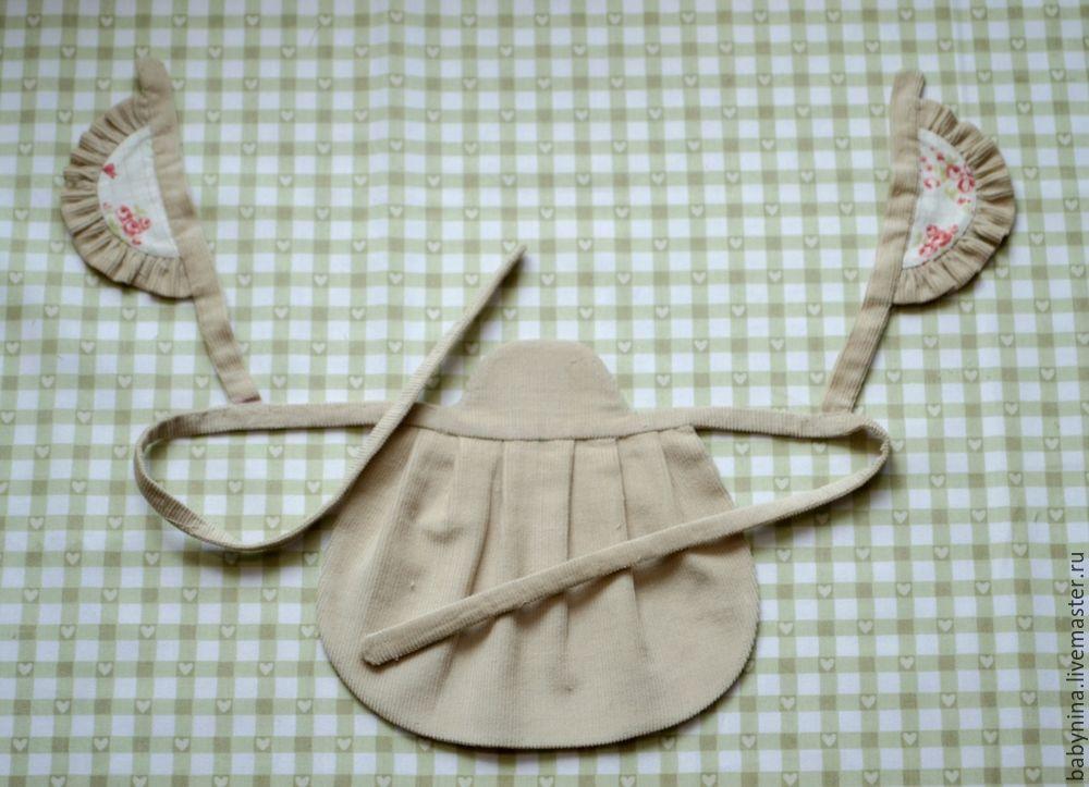 Cosemos un delantal limpio para una muñeca, foto número 18.
