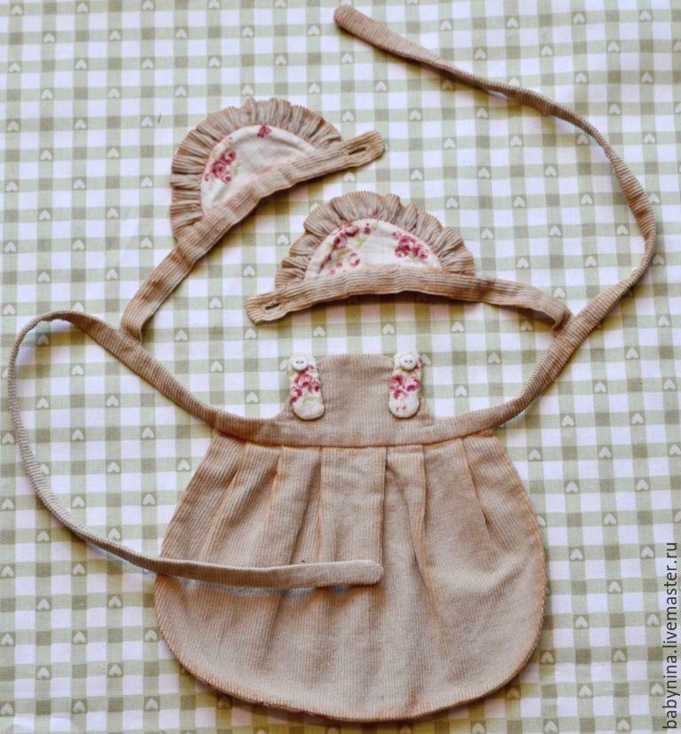 Cosemos un delantal limpio para una muñeca, foto número 19.