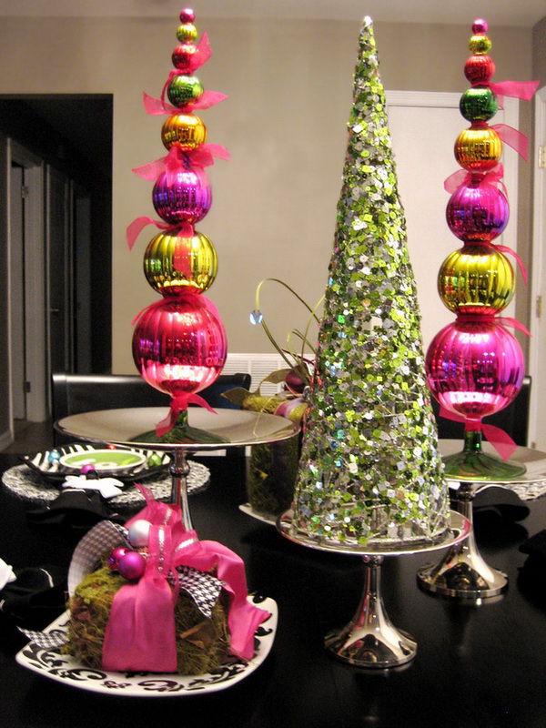 Yılbaşı ruh hali oluşturun: festival dekoru için 50 fikir, fotoğraf № 26