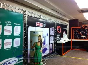 Painel Backdrop para Feira - Novotel