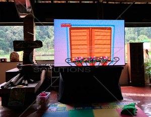 Painel de LED para Festa Familiar 2,40 x 1,60