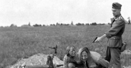 Женщины в плену у фашистов