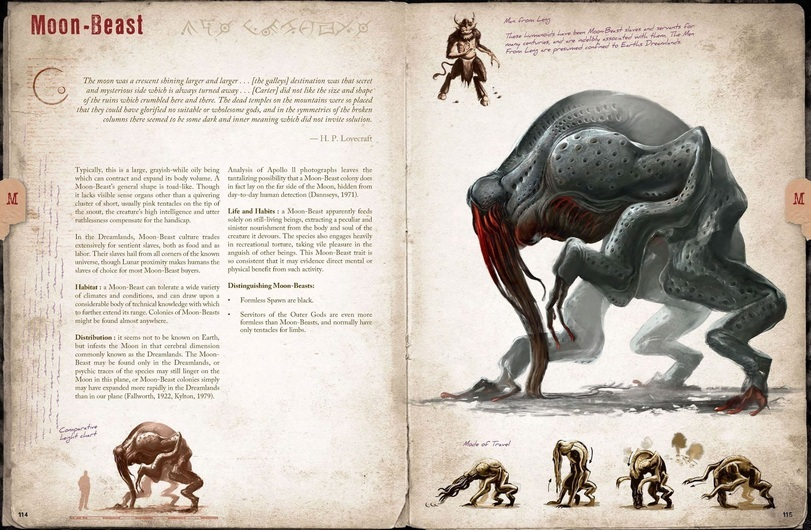 Bestiary Hp Lovecraft