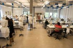 The Fashion Design studio at Cardiff School of Art & Design