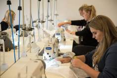 Fashion Design Students working on their 24-hour design challenge