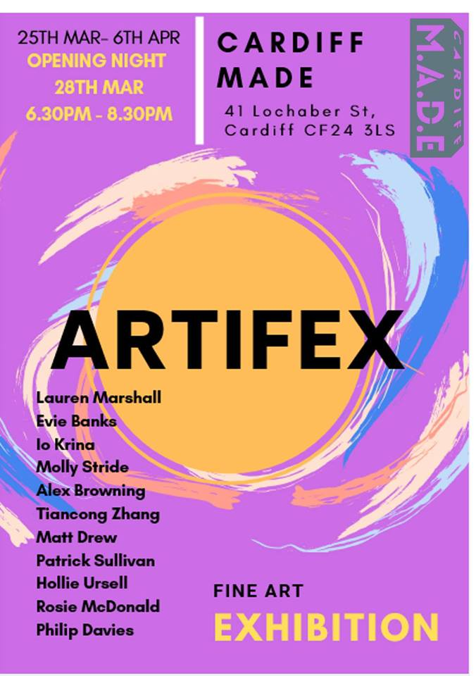 Artifex Exhibition at Cardiff MADE