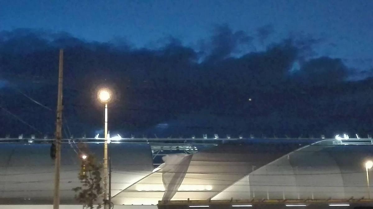 Az első adandó alkalommal leszakadt az új Hidegkuti stadion teteje