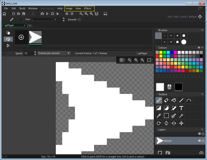 Open the Image Editor, and some additional menus will appear in the menu bar.