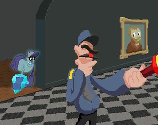 Super Greedy Ghost Grab
