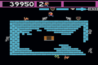 Zoo Keeper - Champ Games - Atari 2600
