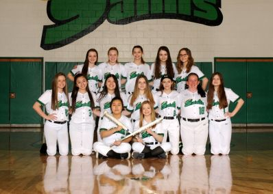 Girls JV Softball 2018-19