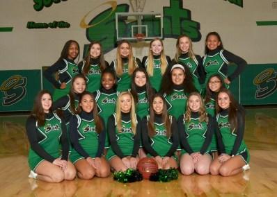 Girls Varsity Cheerleading 2018-19