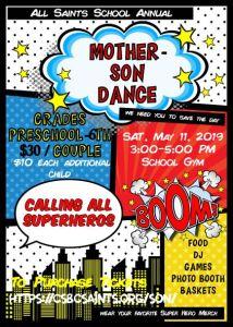 Mother Son Dance 2019 graphic - Mother Son Dance 2019 graphic