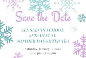 Save the Date Tea - Save the Date Tea