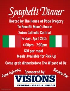 Spaghetti Dinner Friday April 26 2019 232x300 - Spaghetti Dinner, Friday April 26