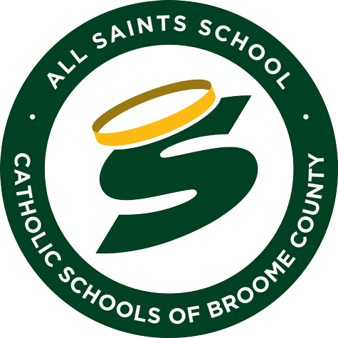 all saints school broome county logo 475px - About