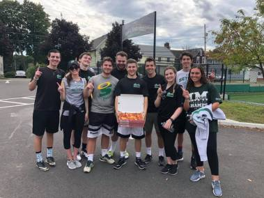 kickball winner won cortese pizza - Welcome Back