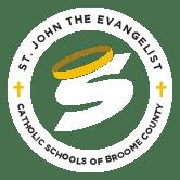 st john the evangelist catholic school broome county logo - st-john-the-evangelist-catholic-school-broome-county-logo