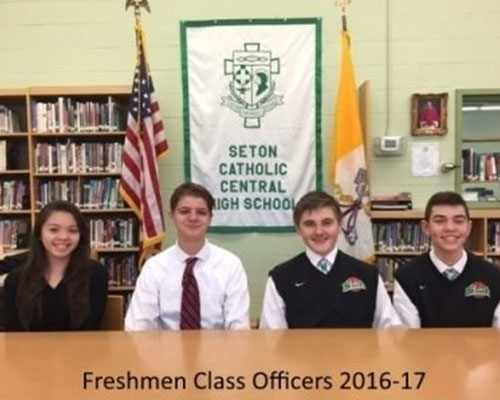 student-council-seton-catholic-central-high-school-broome-county-freshman-officers