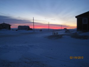 Field Photo from Brevig Mission, Alaska - Source: [Author Unknown]. [Title Unknown]. Digital Image. Brevig Mission, 2013