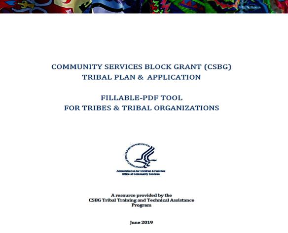 Tools & Templates   CSBG Tribal Online Resource Center