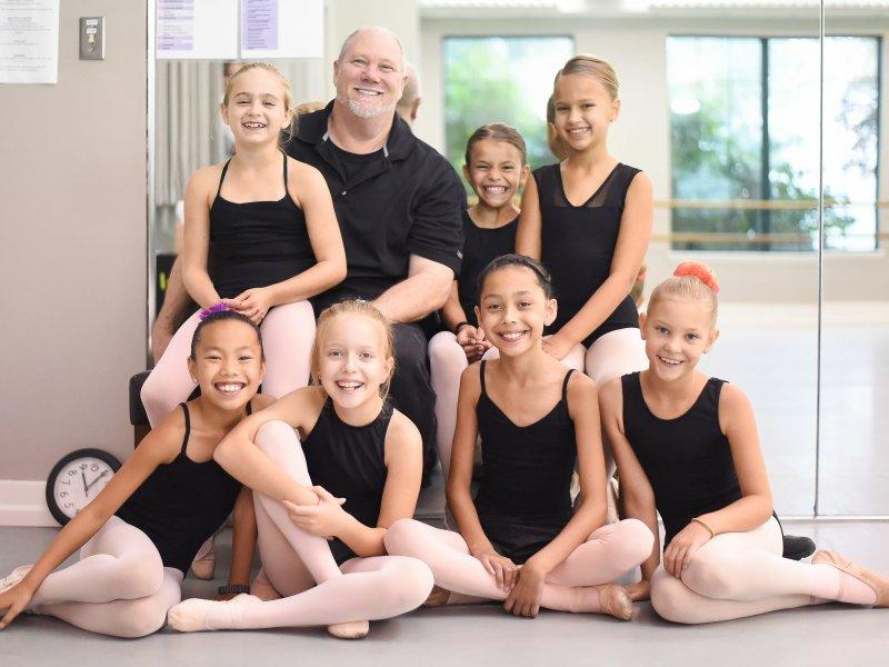 Tim Fox Ballet class