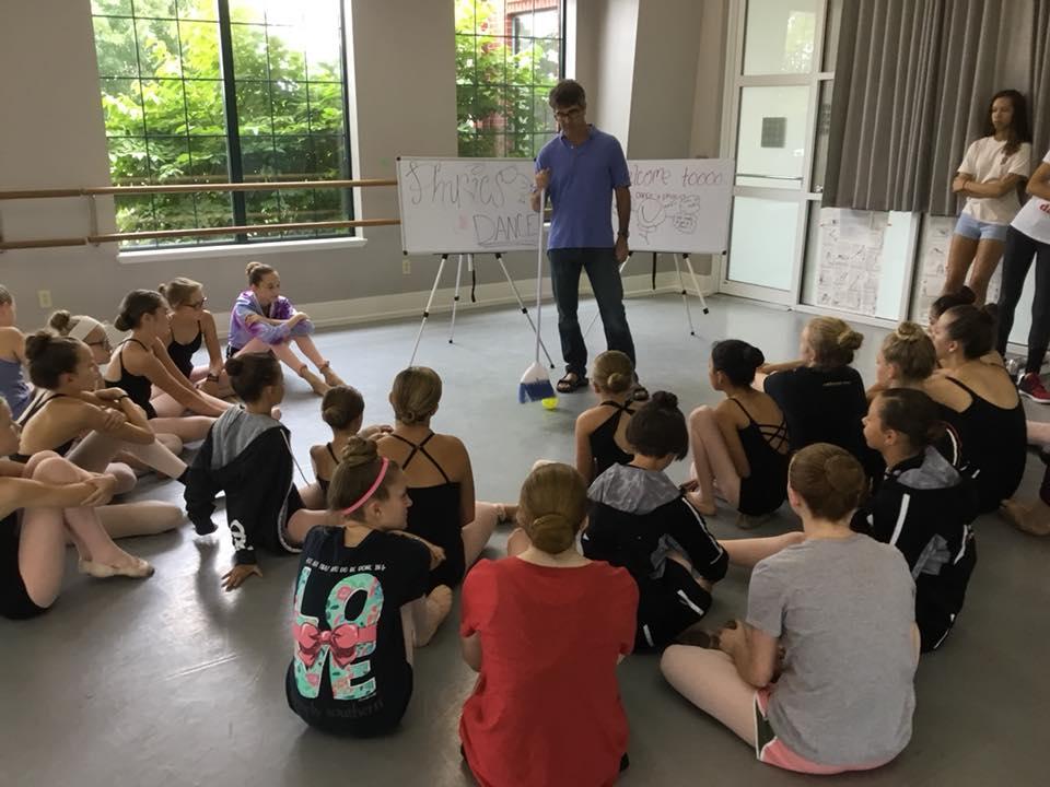 Physics of Dance Class
