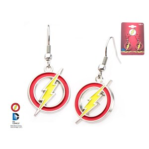 The Flash Logo Earrings