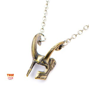 Loki Helmet Necklace