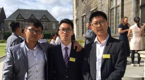 Zhipeng's Story in St Andrews