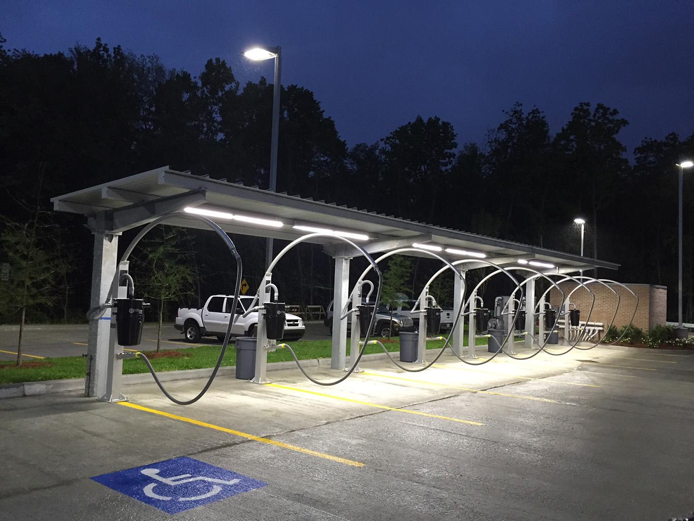 Car WashesVacuum Canopies  CS Canopy