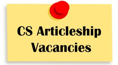 Image result for CS Trainee Required