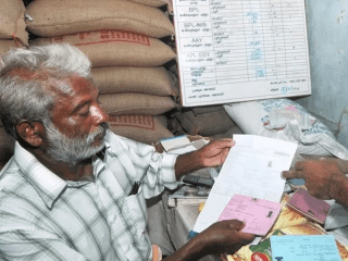 Ration card online