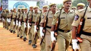 contable police admit card