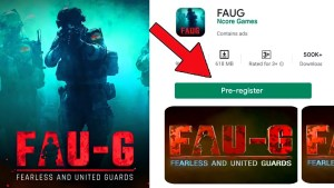 how to download fau-g apk mode